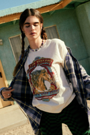 Daydreamer  WILLIE NELSON WILD WEST SHOW TOUR TEE - Product Mini Image