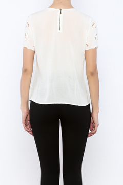 Shoptiques Product: Ivory Embellished Top