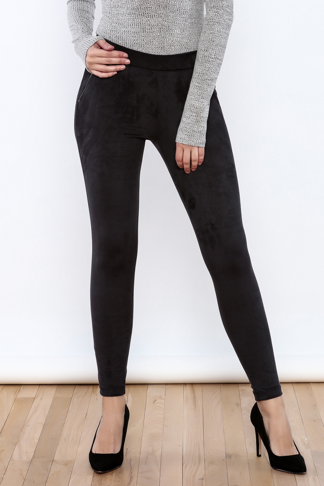 Willow & Clay The Suedette Legging - Main Image
