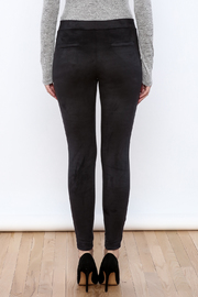 Willow & Clay The Suedette Legging - Back cropped