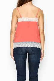 willow and clay Lingerie Inspired Tank Top - Back cropped