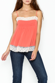 willow and clay Lingerie Inspired Tank Top - Front cropped