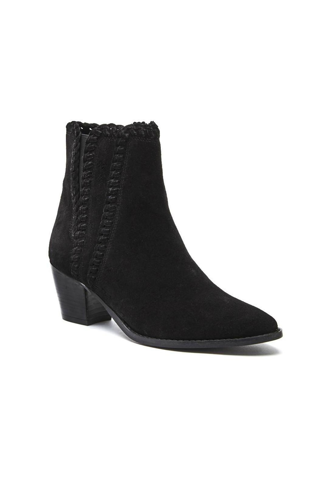Matisse Footwear Willow Bootie w Stitching Detail - Front Full Image