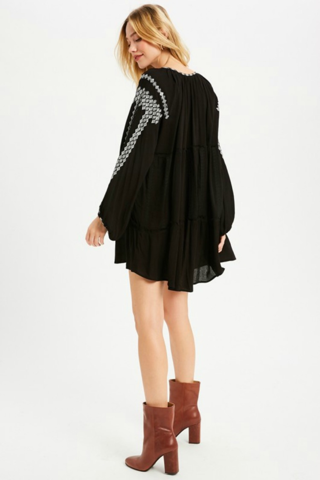 Wishlist Willow Dress - Side Cropped Image