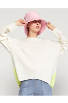 Cynthia Rowley Willow Merino Cashmere Colorblock Sweater - Product List Image