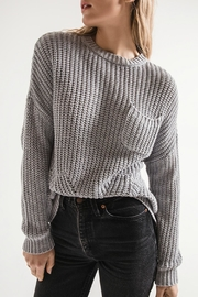 rag poets Willow Oversized Sweater - Product Mini Image