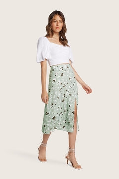 Willow Pam Floral Skirt - Product List Image