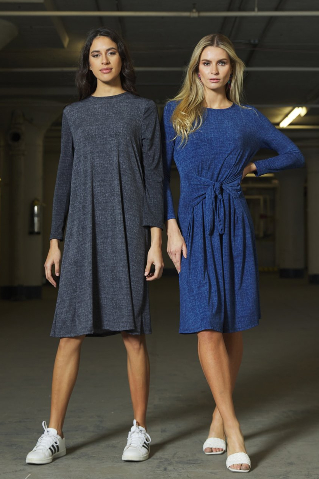 Japparel Willow T-shirt Dress - Front Full Image