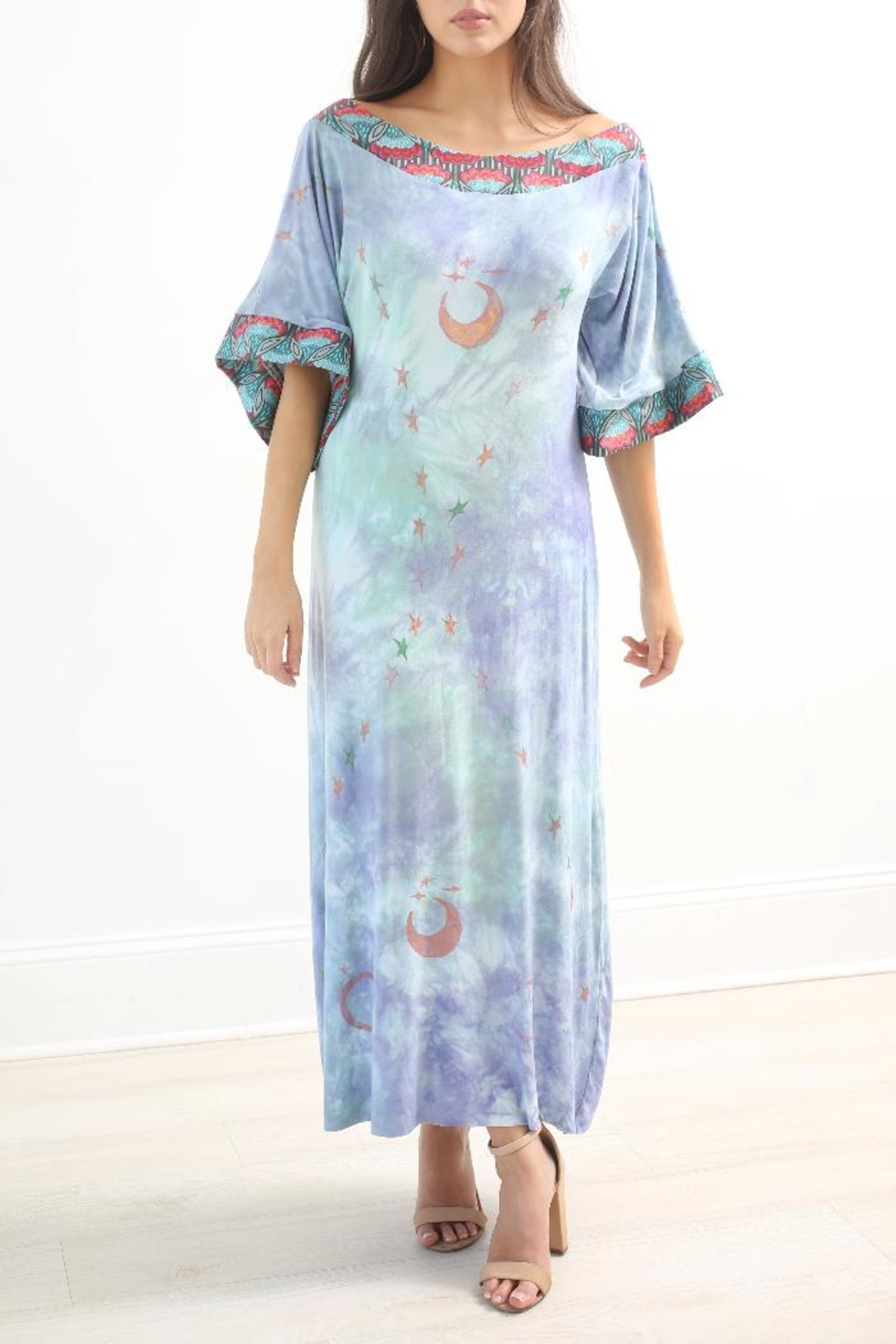 The Disco Dolls Studio Willow Tunic Dress - Front Cropped Image