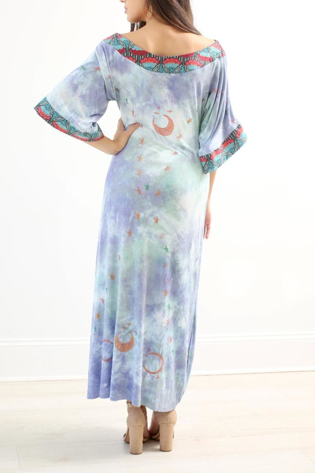 The Disco Dolls Studio Willow Tunic Dress - Side Cropped Image