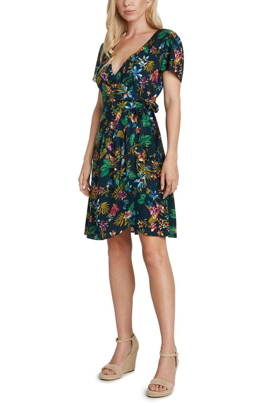 Willow & Clay Bali Wrap Dress - Front Full Image