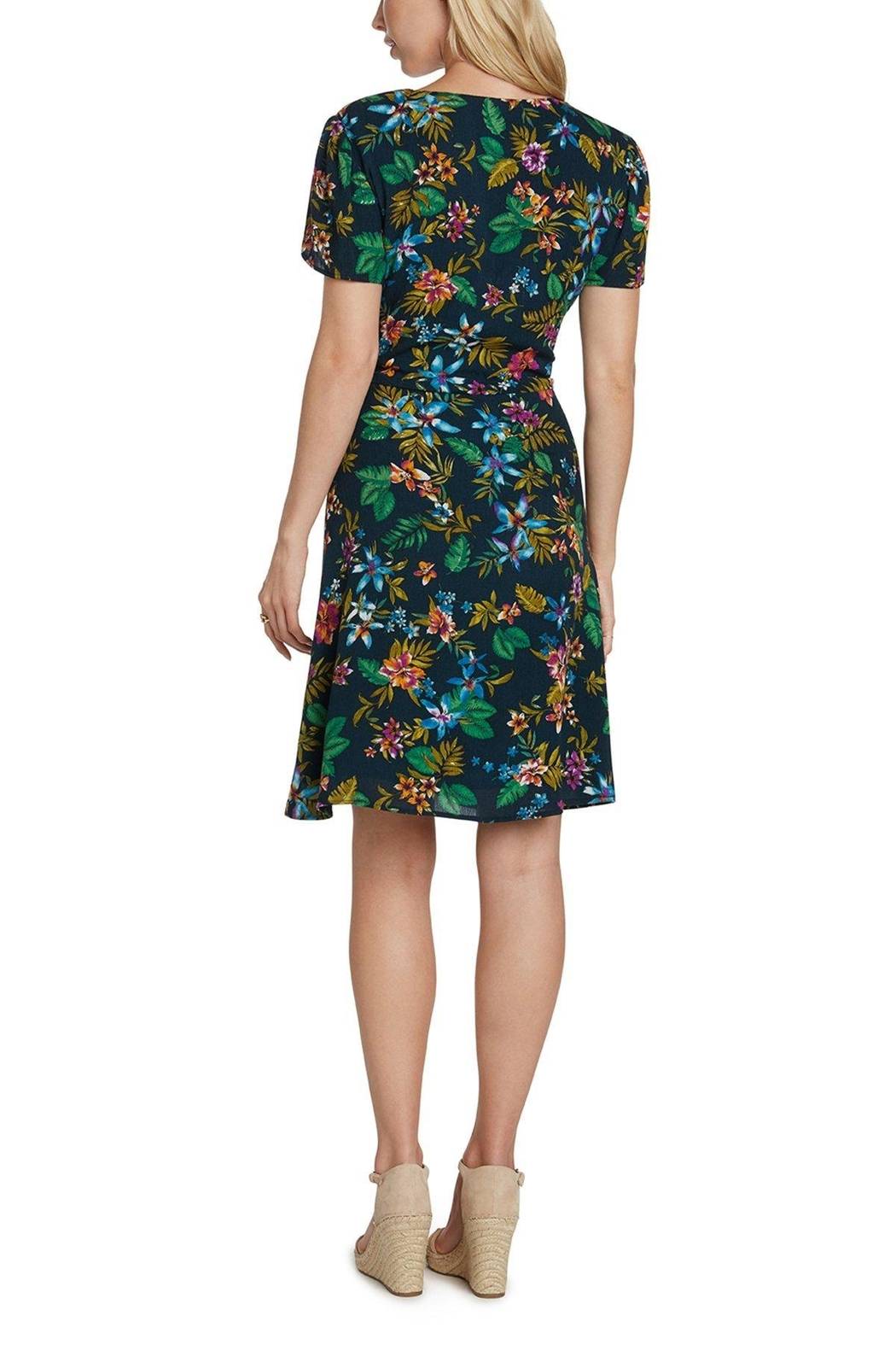 Willow & Clay Bali Wrap Dress - Side Cropped Image