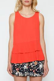 Willow & Clay Tiered Peplum Blouse - Product Mini Image