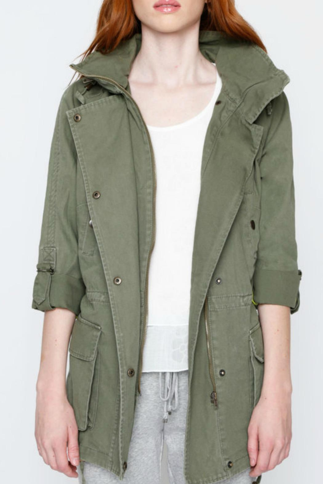 Willow & Clay Canvas Anorak Jacket - Main Image