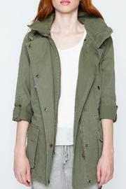 Willow & Clay Canvas Anorak Jacket - Front cropped
