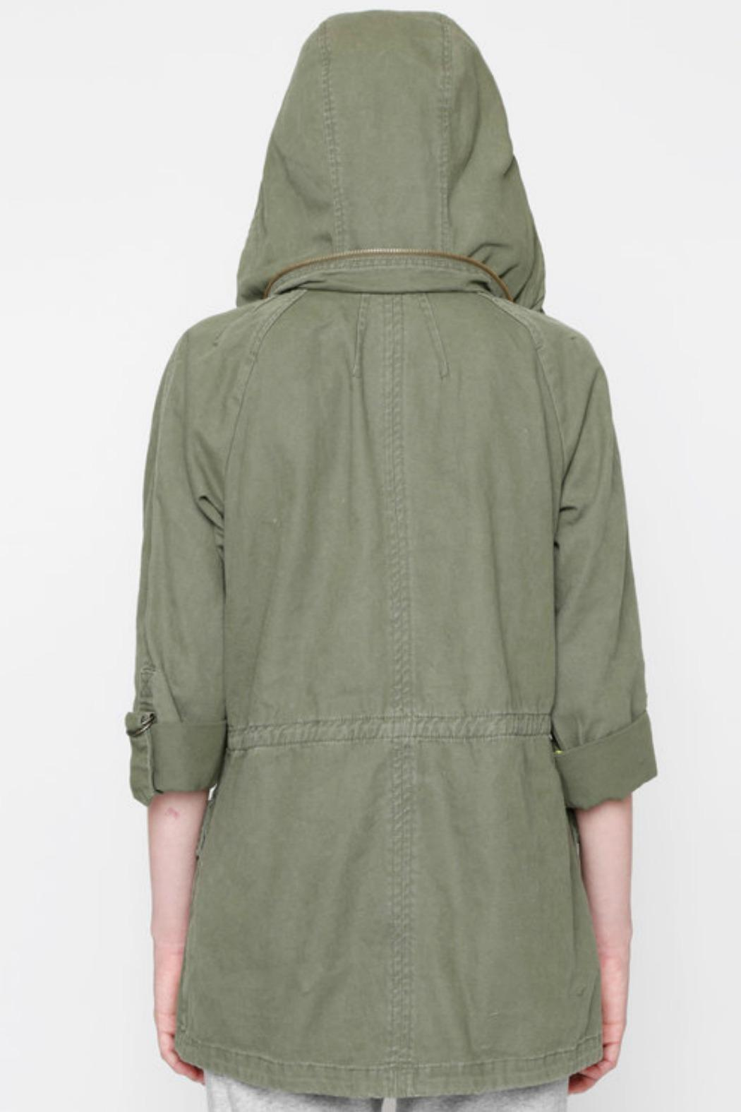Willow & Clay Canvas Anorak Jacket - Front Full Image