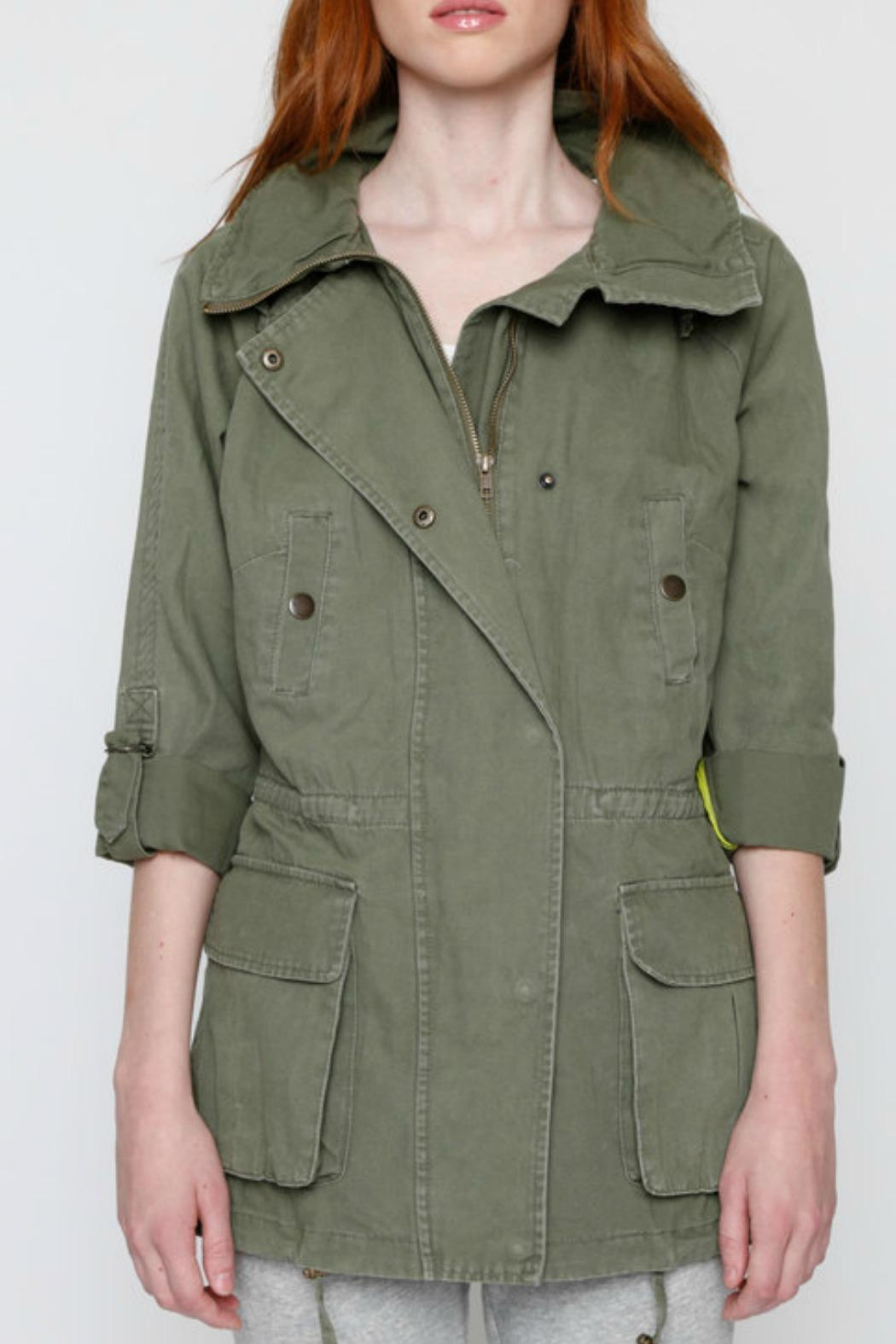 Willow & Clay Canvas Anorak Jacket - Side Cropped Image