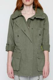 Willow & Clay Canvas Anorak Jacket - Side cropped