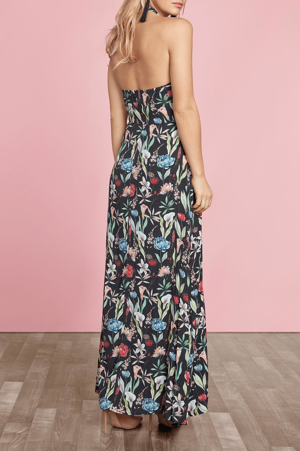 Willow & Clay Carroll Maxi Dress - Side Cropped Image