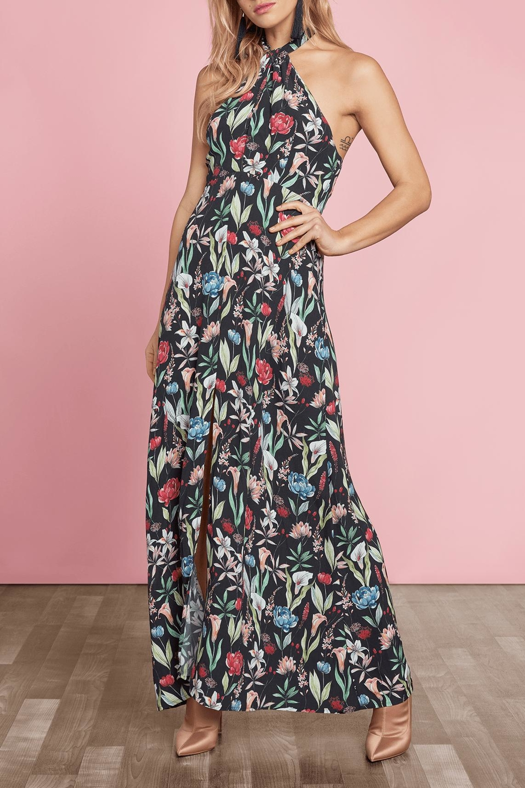 Willow & Clay Carroll Maxi Dress - Front Cropped Image