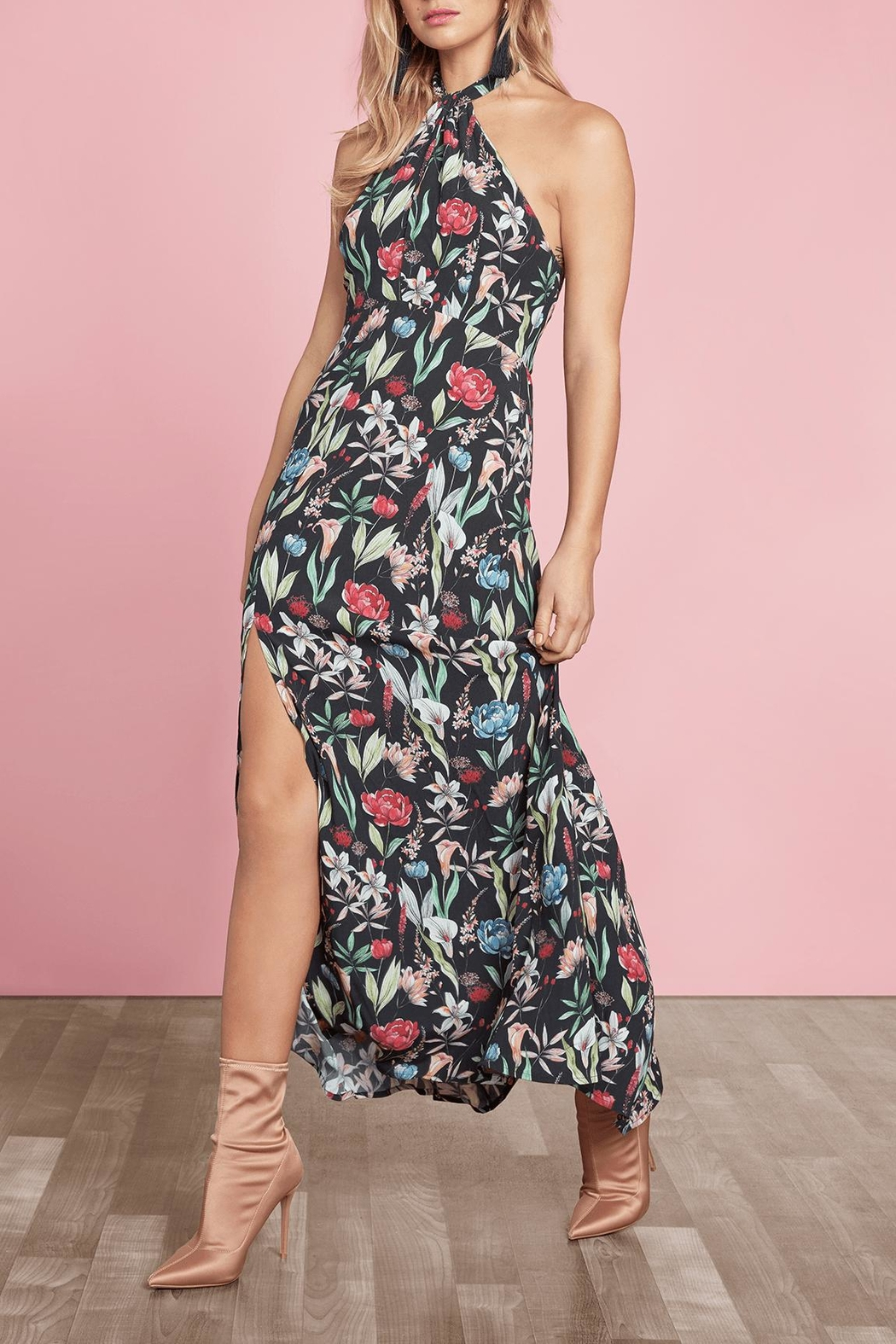 Willow & Clay Carroll Maxi Dress - Front Full Image