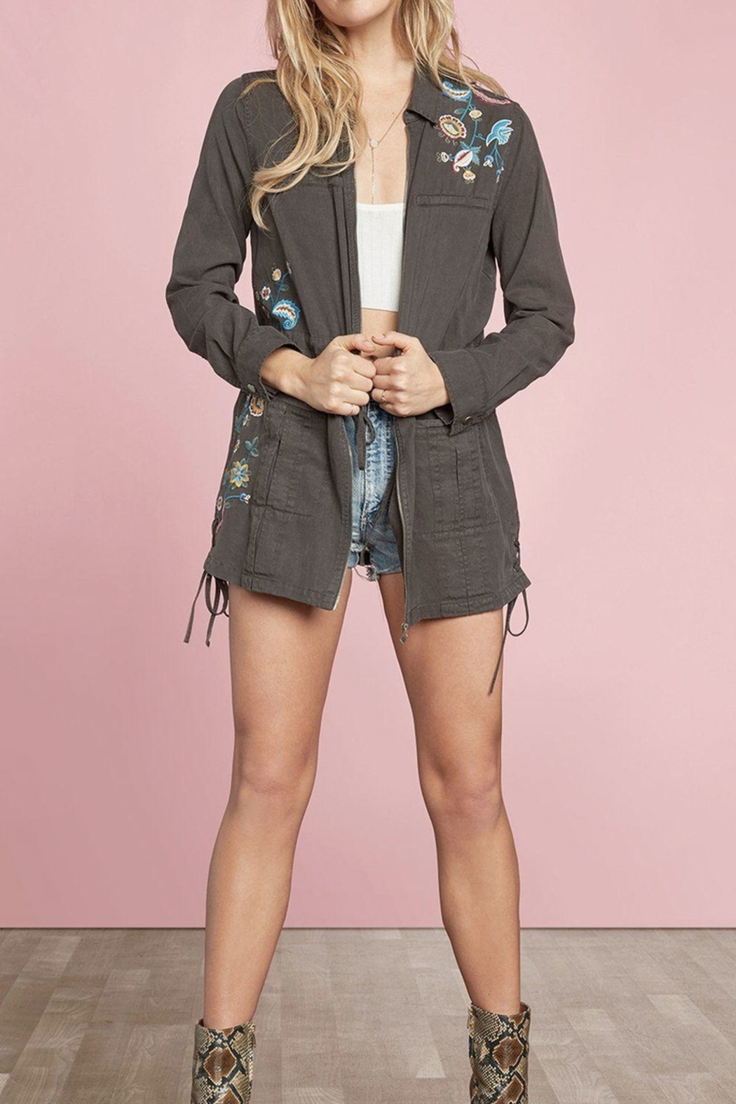 Willow & Clay Cove Anorak Jacket - Front Full Image