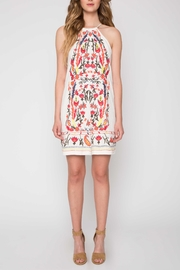 Willow & Clay Embroidered Halter Dress - Product Mini Image