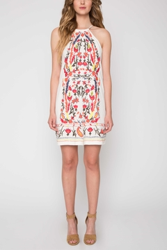 Shoptiques Product: Embroidered Halter Dress