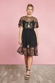 Willow & Clay Embroidered Tunic Dress - Front cropped