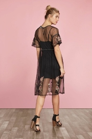 Willow & Clay Embroidered Tunic Dress - Front full body