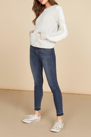 Willow & Clay Everly Ruffle Sweatshirt - Product Mini Image