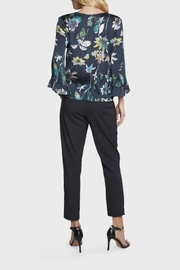 Willow & Clay Floral Bell Sleeve Top - Side cropped