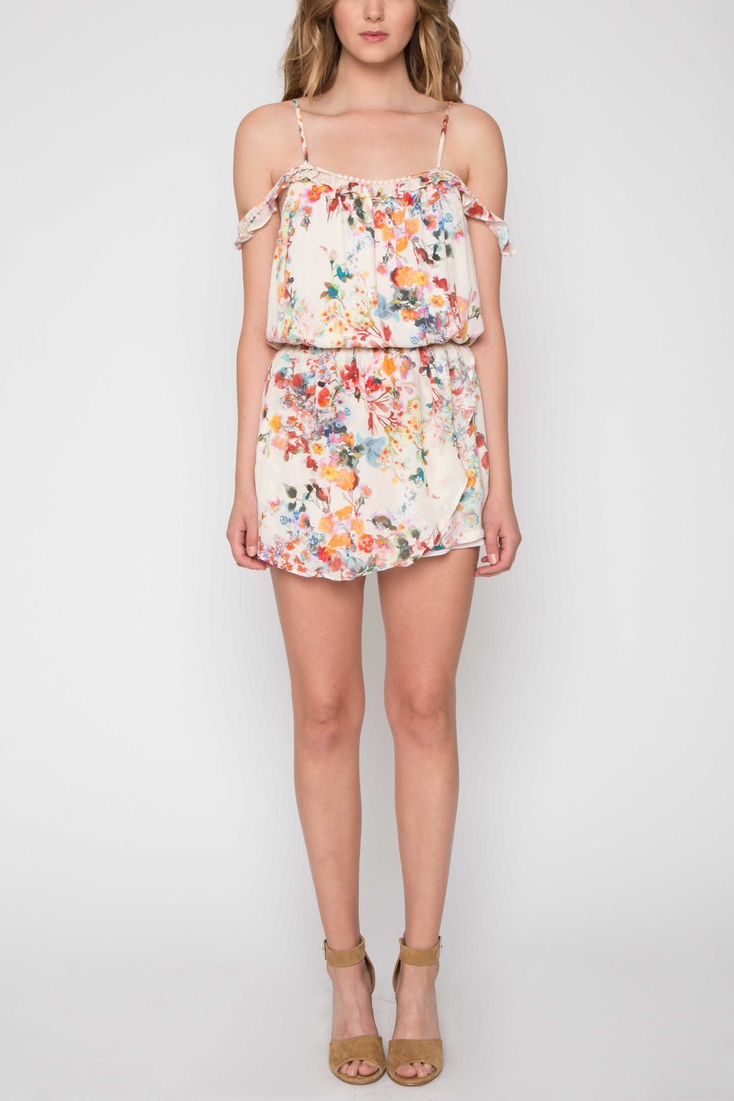 Willow & Clay Floral Daydream Romper - Main Image