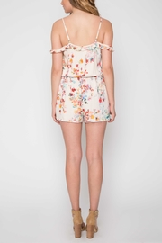 Willow & Clay Floral Daydream Romper - Front full body