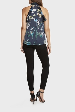 Willow & Clay Floral Print Halter Top - Alternate List Image