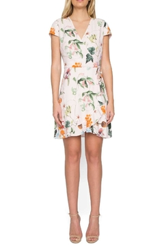 Willow & Clay Floral Wrap Dress - Product List Image