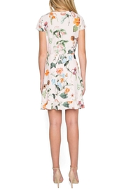 Willow & Clay Floral Wrap Dress - Front full body