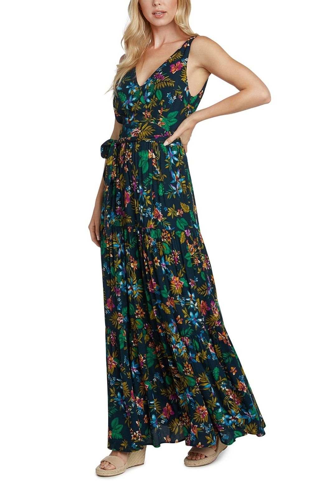 Willow & Clay Martine Maxi Dress - Front Full Image