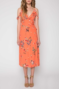 Willow & Clay Printed Wrap Dress - Product List Image