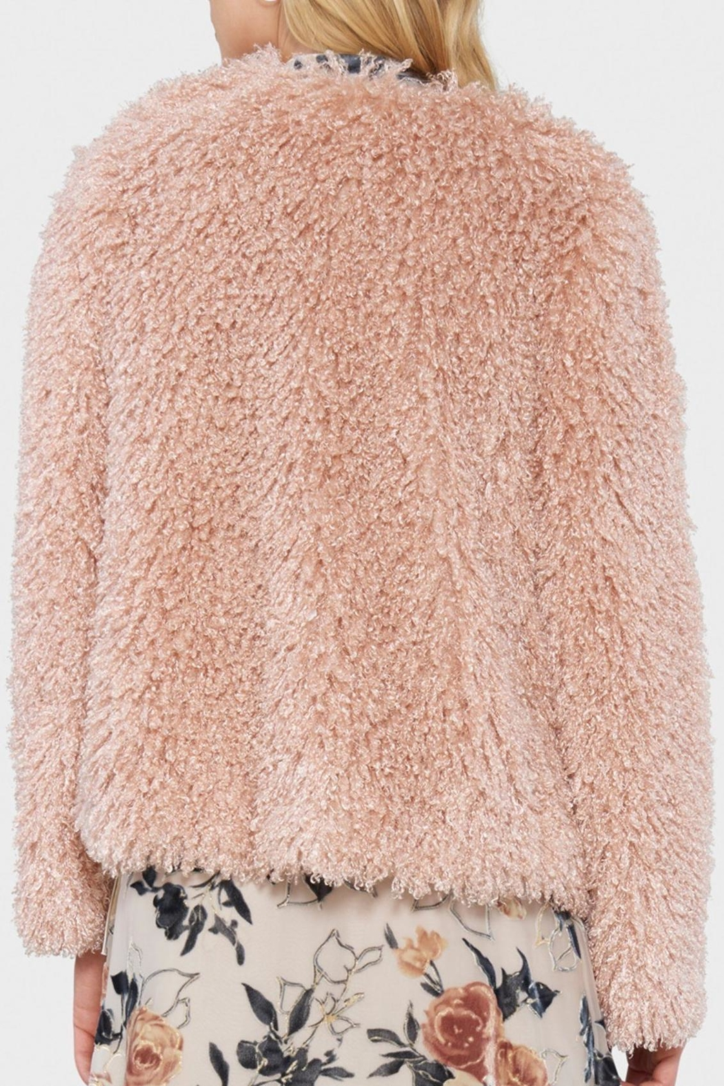 Willow & Clay Shaggy Fur Jacket - Front Full Image