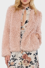 Willow & Clay Shaggy Fur Jacket - Product Mini Image