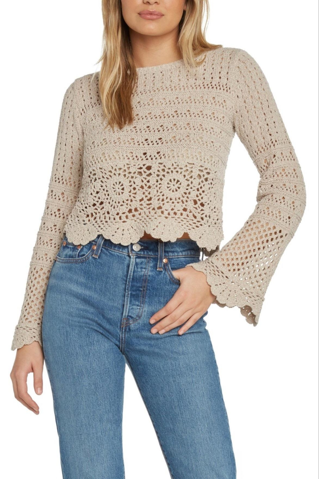 Willow & Clay Soleil Crochet Sweater - Main Image
