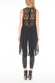 Willow & Clay Soleil Embroidered Tunic Top - Front full body