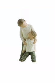 Willow Tree(r) by Susan Lordi, from DEMDACO Brothers Wood Figurine - Product Mini Image