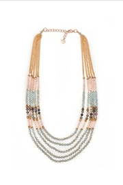 NAKAMOL CHICAGO Crystal & Agate Necklace - Product Mini Image