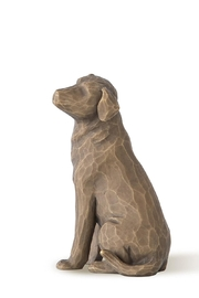 Willow Tree(r) by Susan Lordi, from DEMDACO Love My Dog - Front cropped