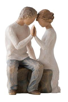 Willow Tree(r) by Susan Lordi, from DEMDACO Around You Wood Figurine - Alternate List Image