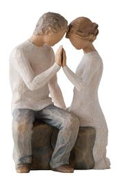 Willow Tree(r) by Susan Lordi, from DEMDACO Around You Wood Figurine - Product Mini Image