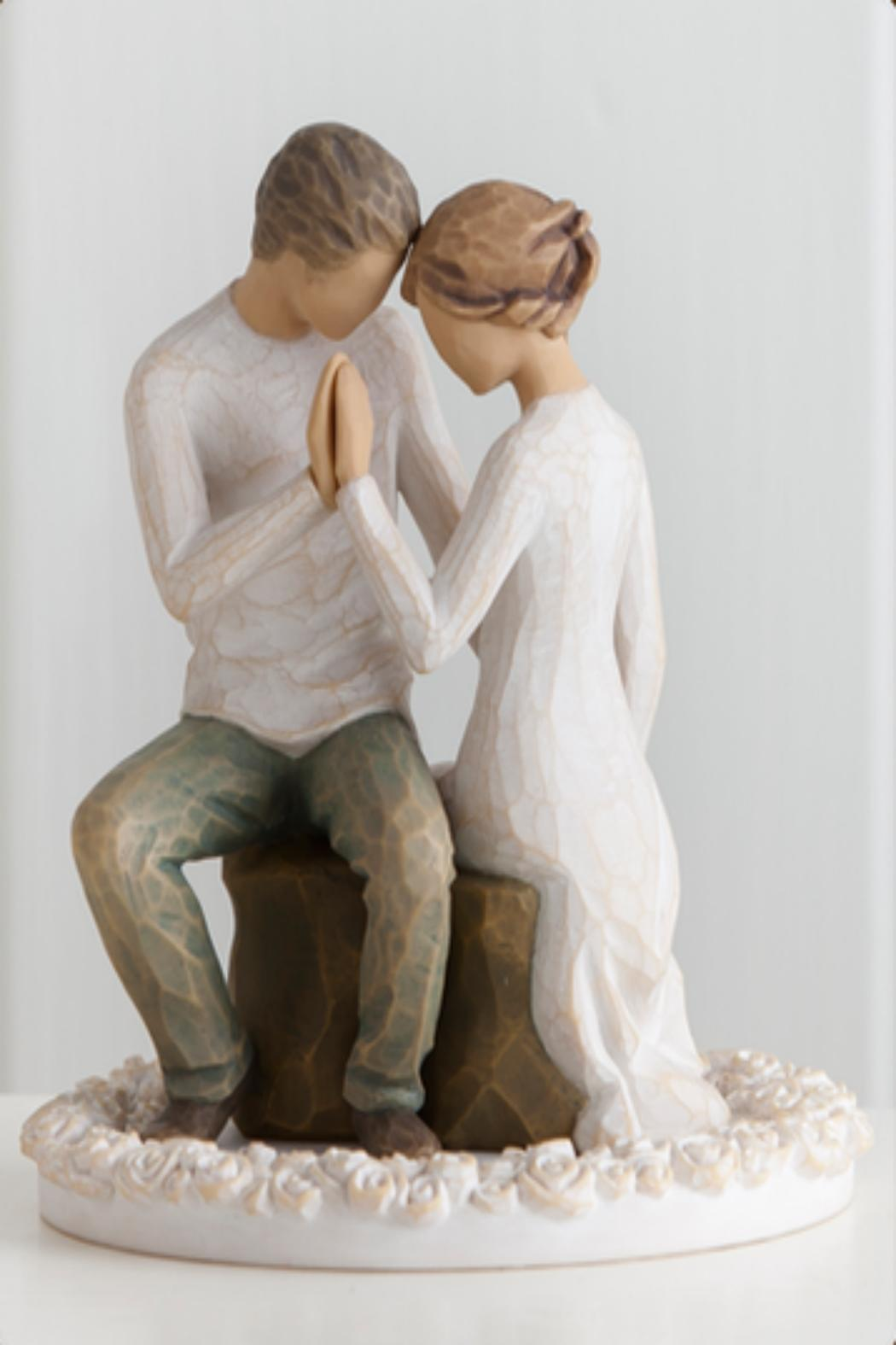 Willow Tree(r) by Susan Lordi, from DEMDACO Around You Cake-Topper - Front Full Image