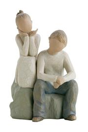 Willow Tree(r) by Susan Lordi, from DEMDACO Brother And Sister Figurine - Product Mini Image